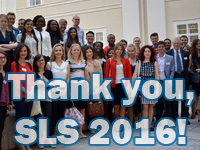 A picture of the SLS 2016 participants